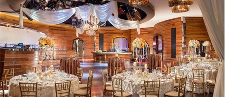 Red Rock Resort Cherry Wedding Reception
