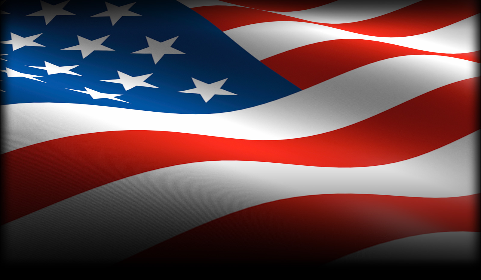 American Flag Background Image