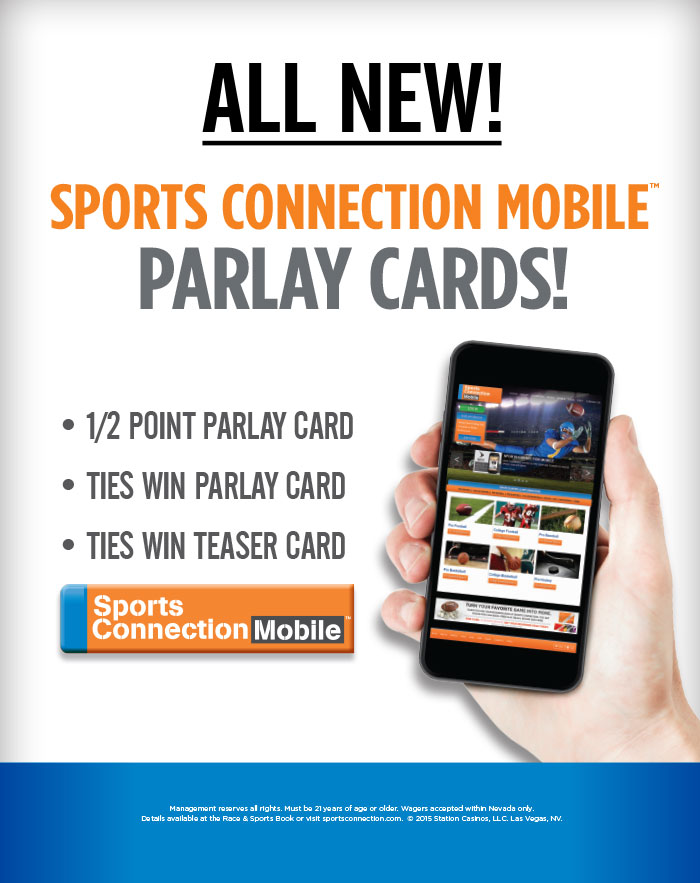 Sports Connection Mobile Parlay Cards!